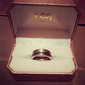 our wedding rings came in weddingbee With our wedding rings