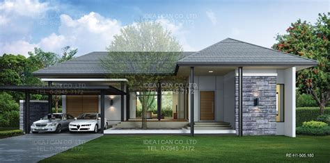 contemporary house plans single contemporary single house
