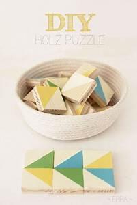 diy holz puzzle selber machen basteln bauen holz diy