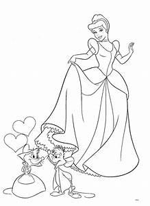 Dibujos Para Colorear Pintar Imprimir Princesas Disney Para Colorear