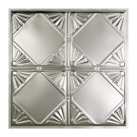 great lakes tin erie 2 x 2 tin lay in ceiling tile at