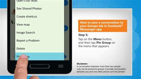 messenger app chat save
