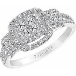 cheap engagement rings walmart keepsake bestow 1 2 carat t w sterling silver engagement ring walmart