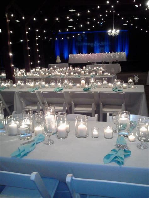 look at these beautiful decorations from last weekend s winter wedding happy days