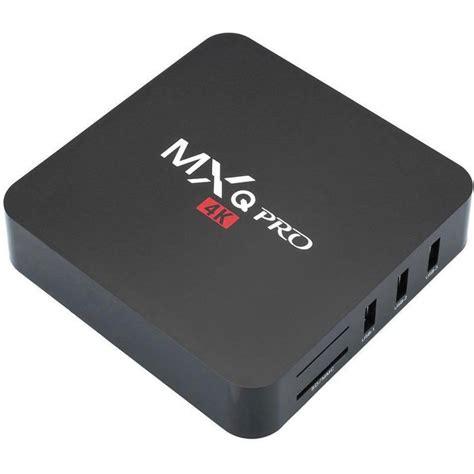 mxq pro 4k smart tv box android media player streamer