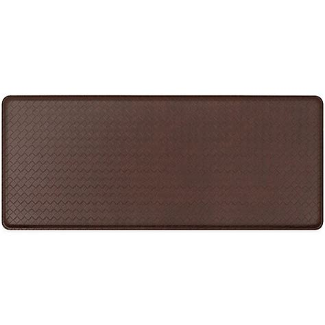 floor mats bed bath and beyond gelpro 174 classic basketweave floor mat bed bath beyond
