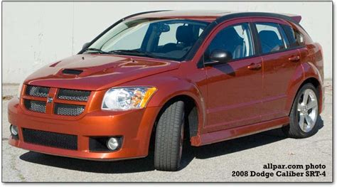 dodge caliber srt  screaming fast hatchback