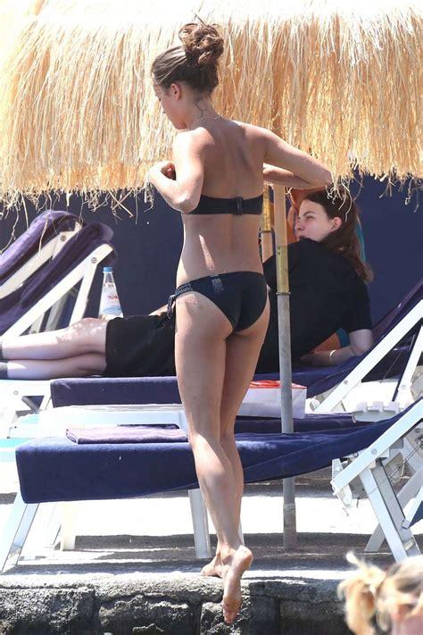 alicia vikander wearing bikini ischia gotceleb