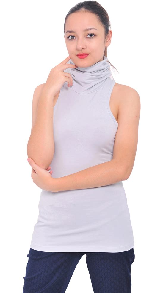 plain slim fit turtle neck top womens slim fit cotton jersey turtleneck sleeveless top