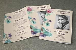 Funeral brochure memorial funeral program services for Funeral leaflet template
