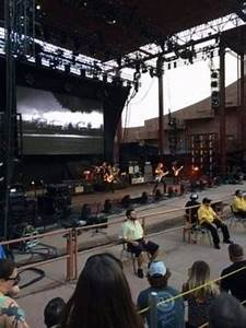 Red Rocks Reserved Seating Chart Red Rocks Amphitheatre Section Reserved Row 3