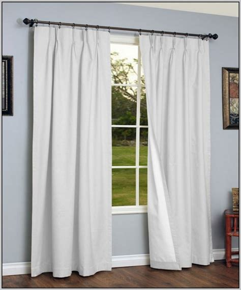 Pleated Thermal Drapes - pinch pleated drapes thermal lined curtains home