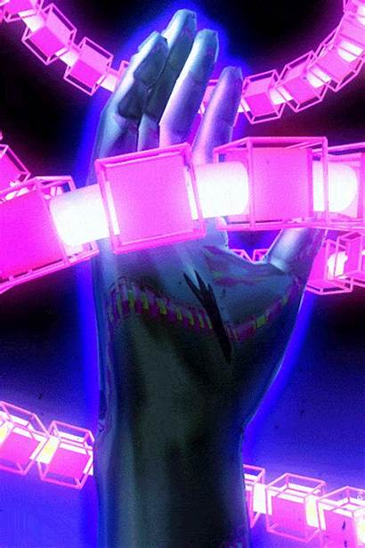 Retro Synthwave Gifs Load Animations Kidmograph Wave