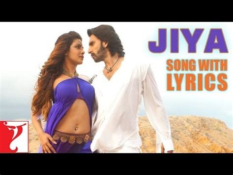 Lyrical Jiya Song With Lyrics  Gunday  Ranveer Singh  Priyanka Chopra  Irshad Kamil Youtube