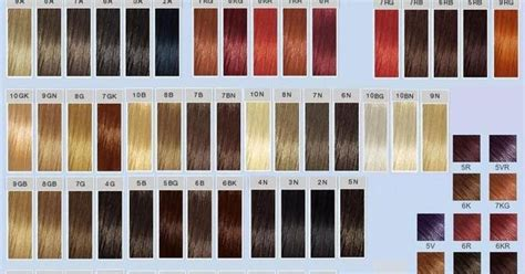 goldwell top chic swatches hair makeup pinterest