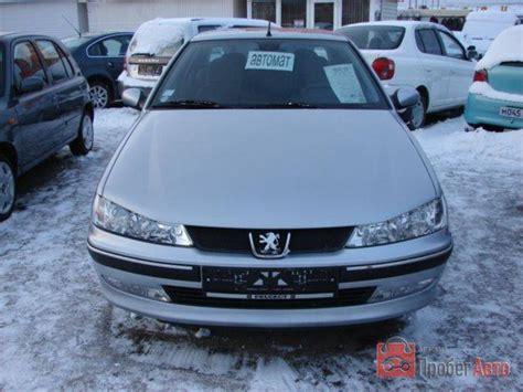 2001 Peugeot 406 Photos