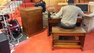 Another Hammond Organ And Leslie Speaker Restored