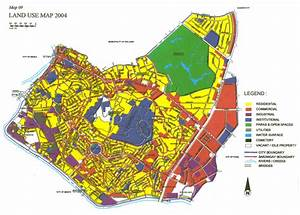 City Of Mandaluyong   Land Use   Land Use Map 2004