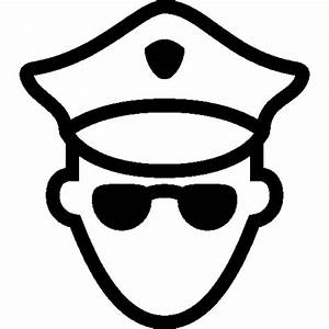 Users Policeman Icon | iOS 7 Iconset | Icons8