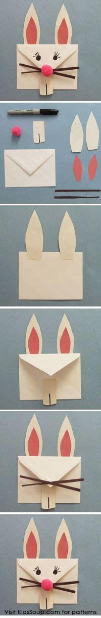 easter bunny envelope craft  preschool  kindergarten