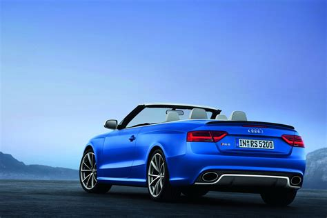 Audi Convertible by 2014 Audi A5 Convertible Blue