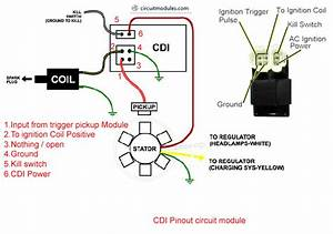 How To Tell If Cdi Is Bad  U2013 Circuit Module Cdi Ignition