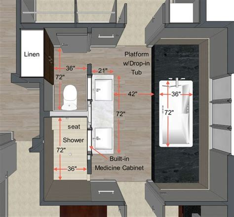 Bad Grundriss Ideen by Your Guide To Planning The Master Bathroom Of Your Dreams