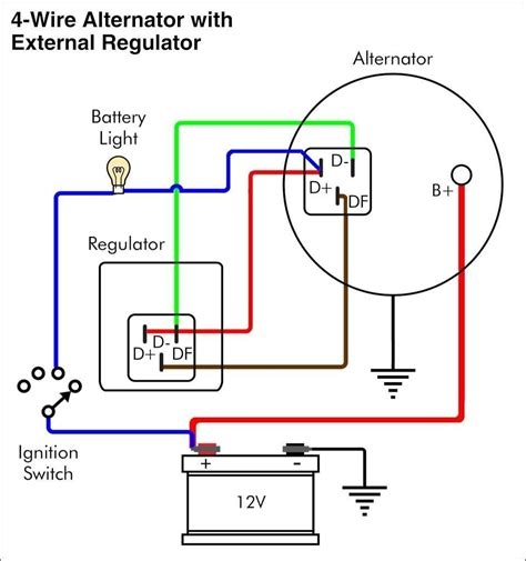 Volt Delco Alternator Wiring Diagram Wiringdiagram