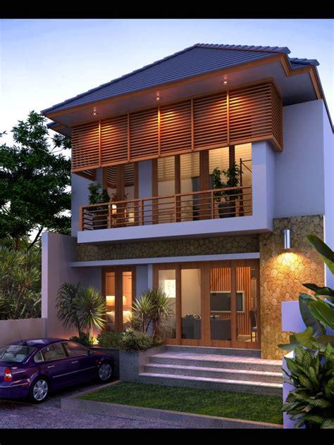 lihat desain rumah villa bali terbaru mewah elegant gaya