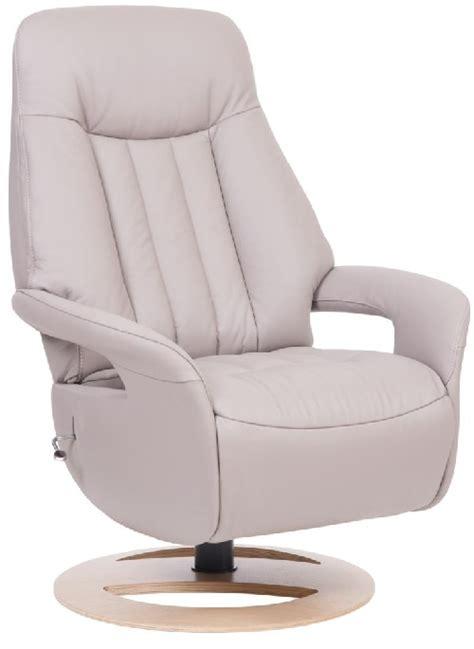 Slimline Recliners by Sitbest Slimline Esprit Swivel Chair Light Grey All Batik