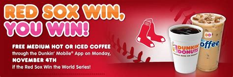 This subreddit is for all things related to dunkin donuts. Free Dunkin Donuts Medium Coffee on Monday, November 4, 2013! | Boston on Budget
