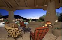 lovely southwest patio design ideas Southwest style covered patio with outdoor fireplace. | Patio Ideas | Pinterest | Covered patios ...