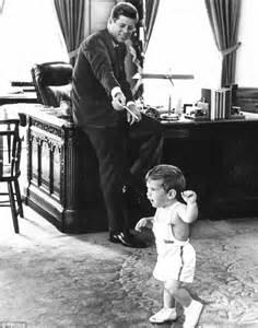 John and Jackie Kennedy White House