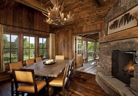 awesome log home  rustic interior cozy homes life