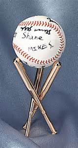 What Does Mlb Stand For by Display Stands Baseball Set Of 2 Baseball Memorabilia
