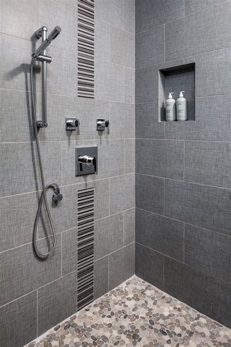 1000 ideas about pebble tile shower on pebble