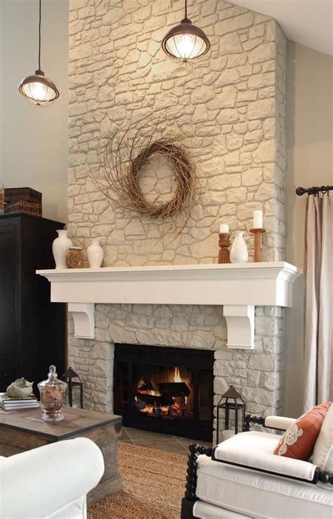 Best 20+ Stone Fireplace Makeover Ideas On Pinterest