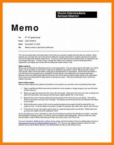 11 sample memo format xavierax for Template for writing a memo