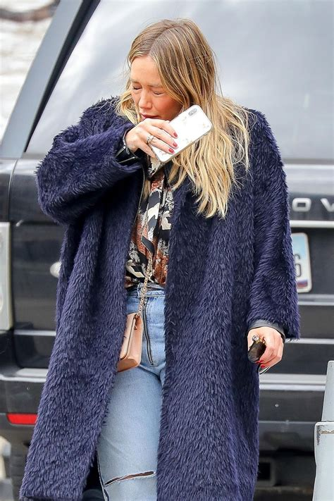 kaos new york 03 hilary duff out and about in new york 03 26 2018 hawtcelebs