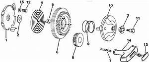 Johnson Rewind Starter Parts For 1992 4hp J4rdhenm