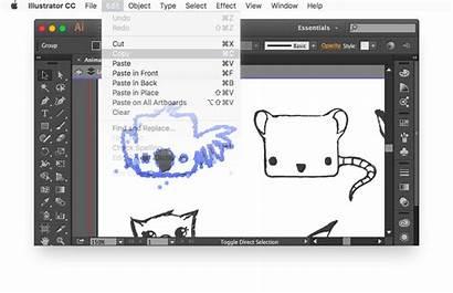 Illustrator Element Eps Downloaded Website Paste