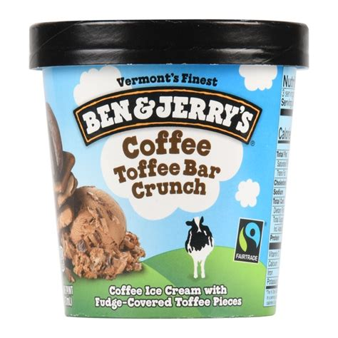 Another one of its most famous flavours is ben & jerry's phish food. Ben & Jerry's Ice Cream Coffee Toffee Bar Crunch 16 oz - Walmart.com - Walmart.com