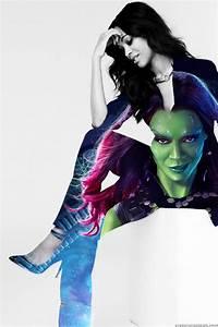 Go Green - Gamora Feature by SavvyRed on DeviantArt