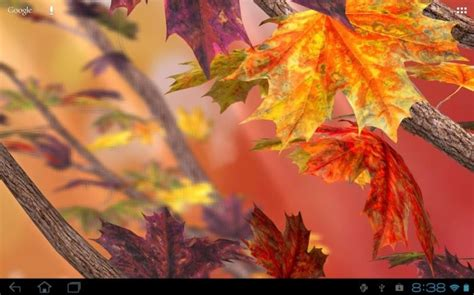 Falling Leaves Live Fall Backgrounds by 10 Best Live Wallpapers For Android Phones And Tablets