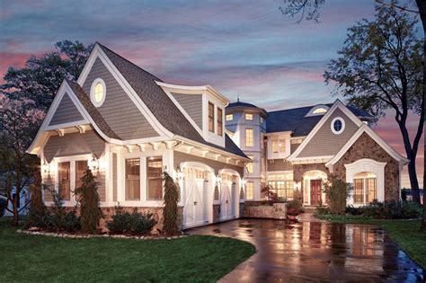 Home Exterior : Shingle Style Lake House-vanbrouck & Associates