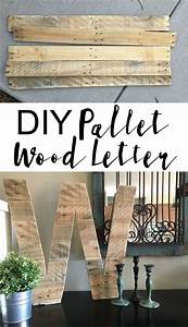 diy pallet wood letter large letters pallet wood and With pallet letters
