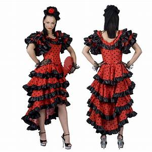 achat vente deguisement espagnole flamenco femme prix bas With robe flamenco femme