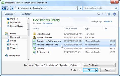excel 2013 merge two workbooks excel 2010 tutorial