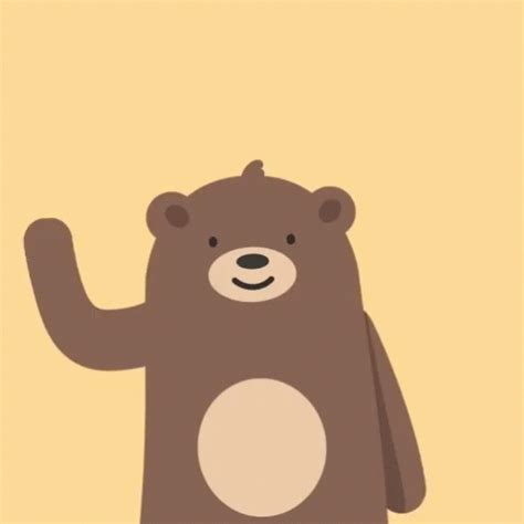 Hi Wallpapers Animated - teddy gif teddybear hello discover