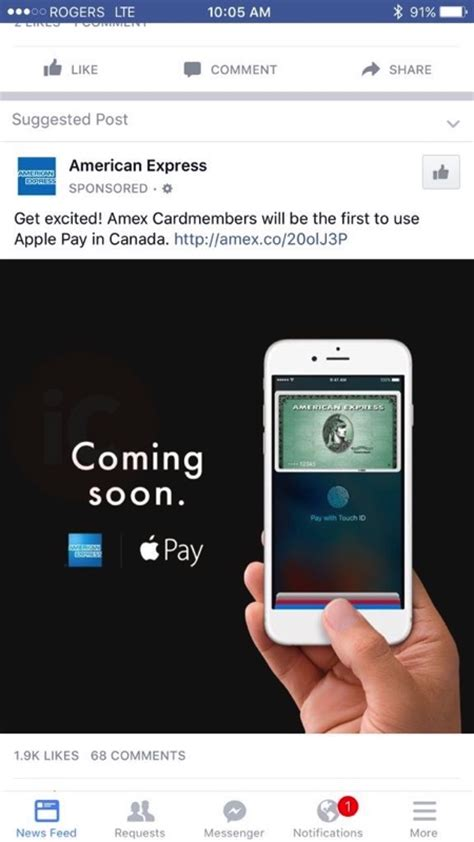 amex pay by phone american express tells canadians apple pay quot coming soon